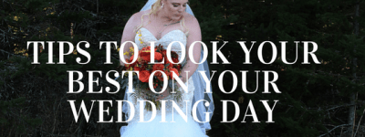 Wedding Day Tips Bride in Southern Maine