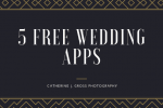 5 FREE Wedding Applications