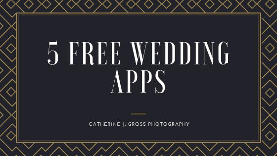 5 FREE Wedding Applications